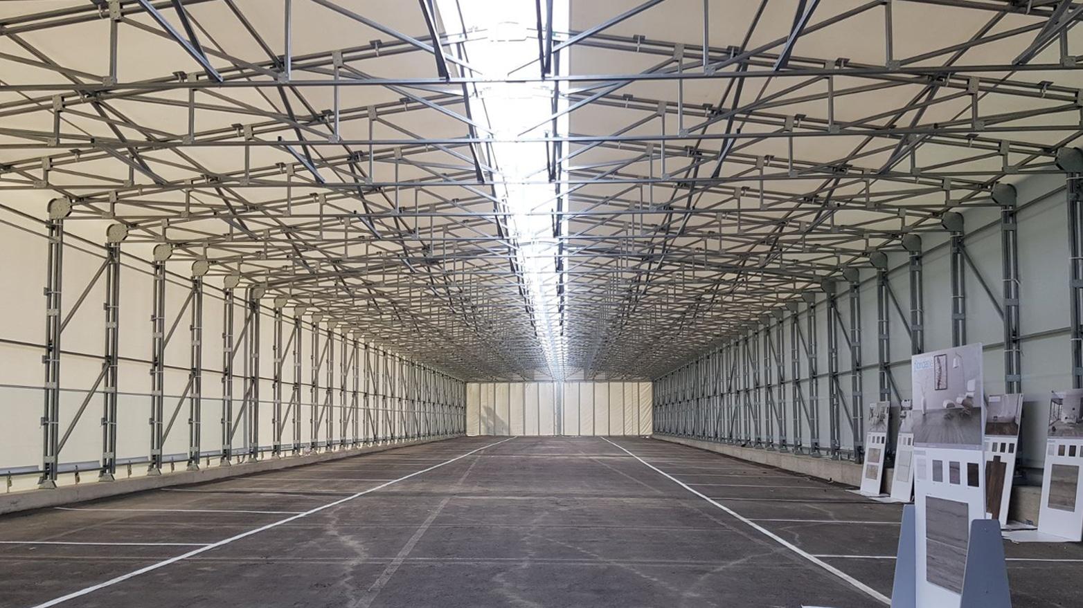 capannoni industriali in pvc