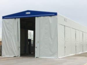 capannoni motorizzati PVC