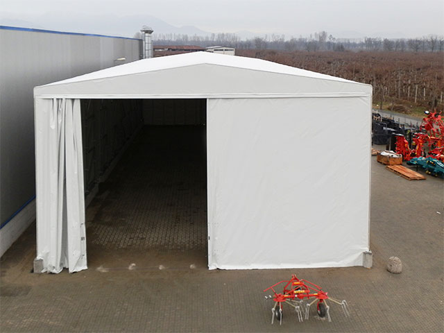 settori di applicazione dei capannoni mobili