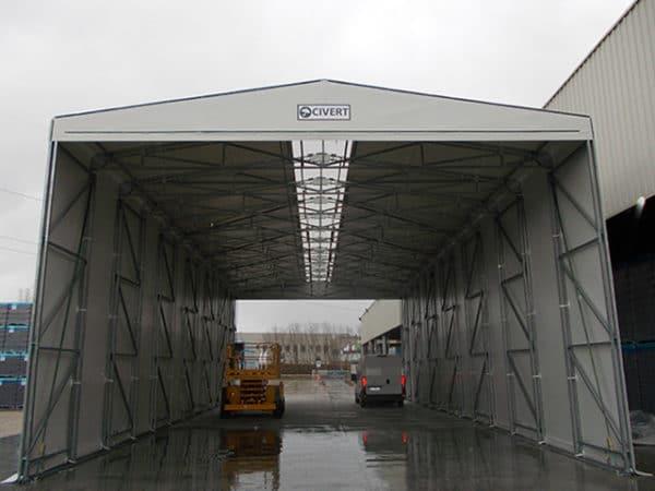 capannoni mobili anti-combustione