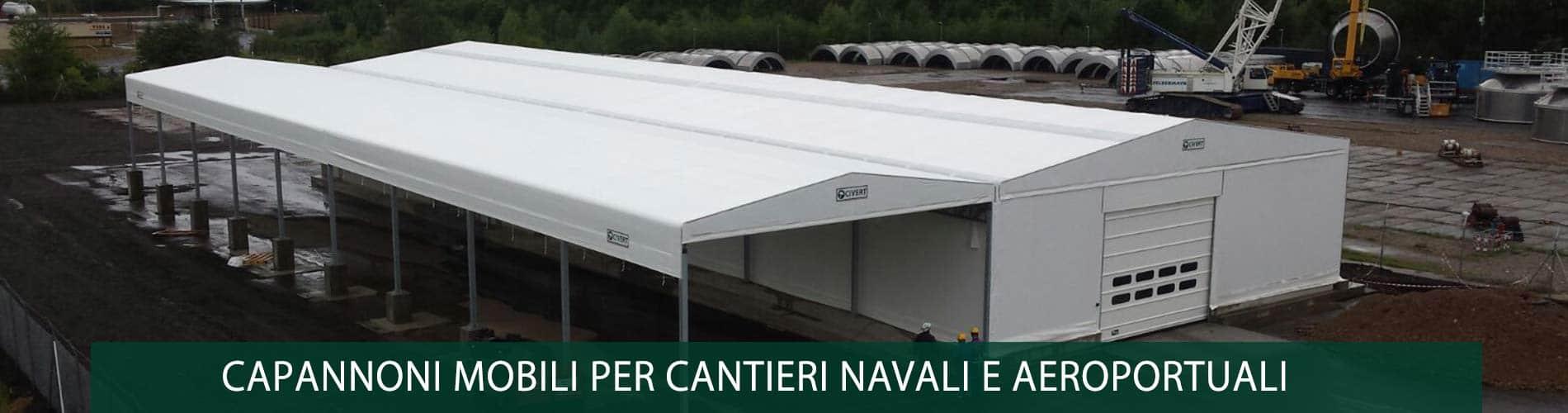 capannoni cantieri navali e aeroportuali