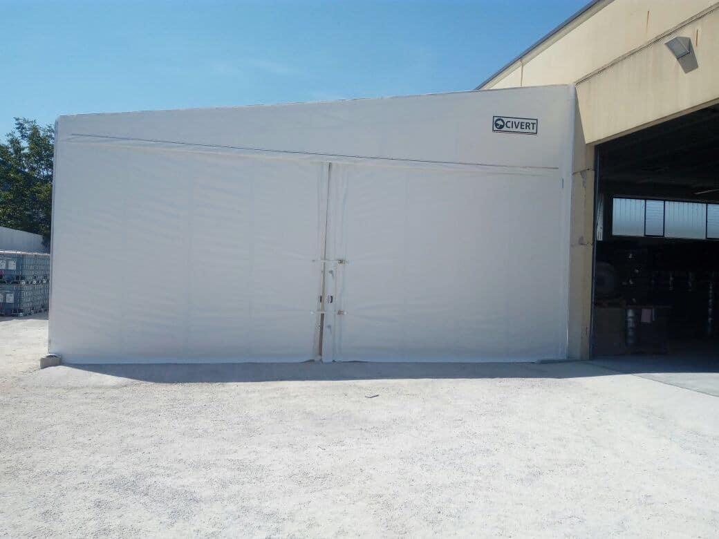 capannoni pvc monoside
