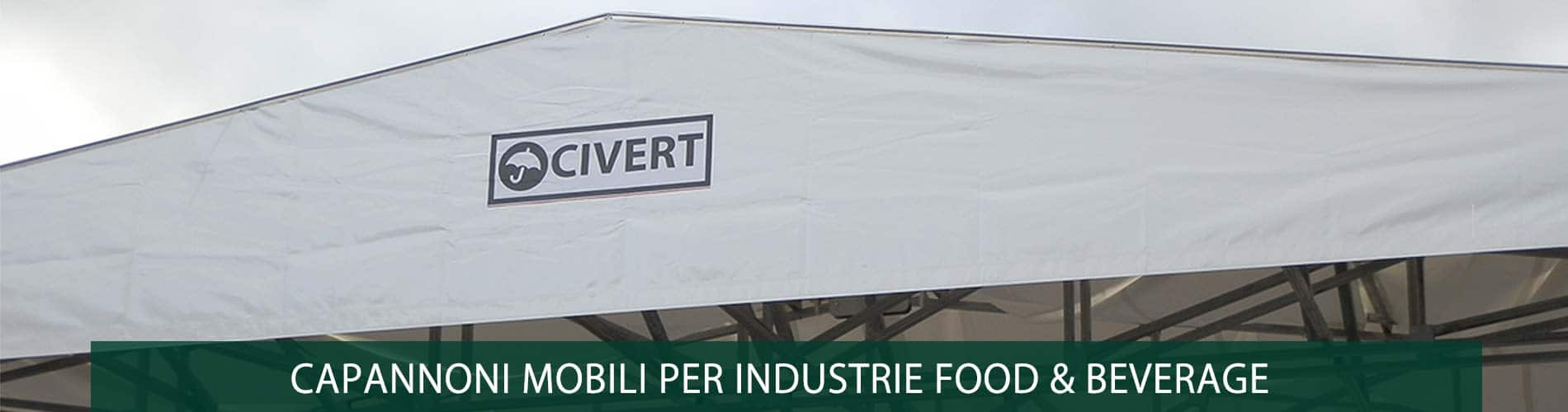 capannoni industrie food beverage