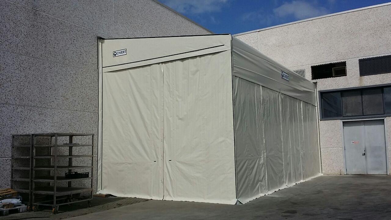 capannoni laterali monoroof