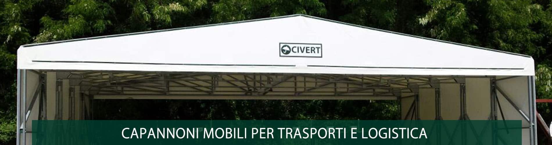 capannoni mobili per trasporti e logistica